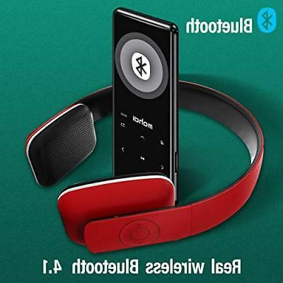 MYMAHDI MP3 Player Bluetooth 4.1 Touch 2.4 Digital