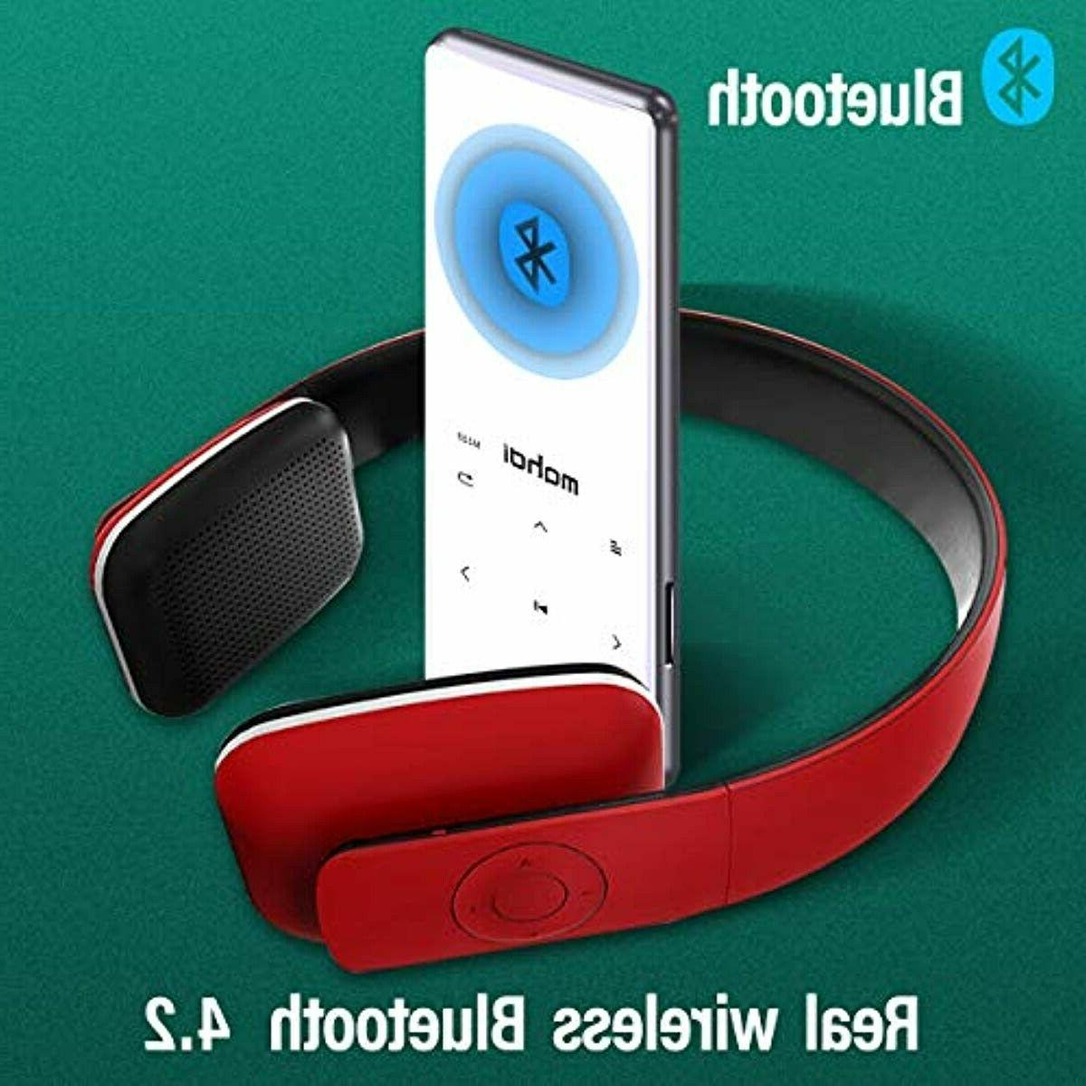 MYMAHDI Bluetooth Touch Buttons with 2.4 inch Screen, 16GB