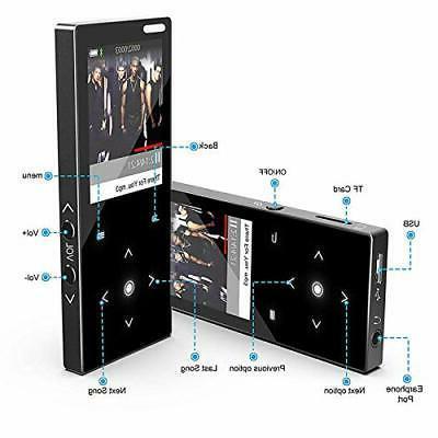 HONGYU Player Bluetooth4.0,16G Portable Sound