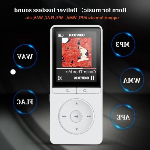 AGPtEK 16 Player FM Voice Recorder Playback White