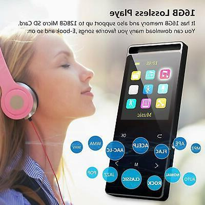 MP3 with Bluetooth16GB Music FM Reco...