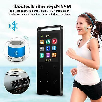 MP3 PlayerMP3 Player Bluetooth16GB FM Reco...