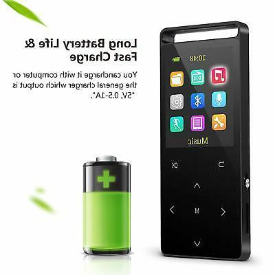 MP3 PlayerMP3 Player Bluetooth16GB Music FM Radio/Voice