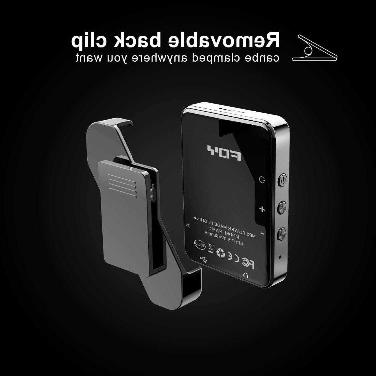 MP3Player, Player Bluetooth, 32GB Music