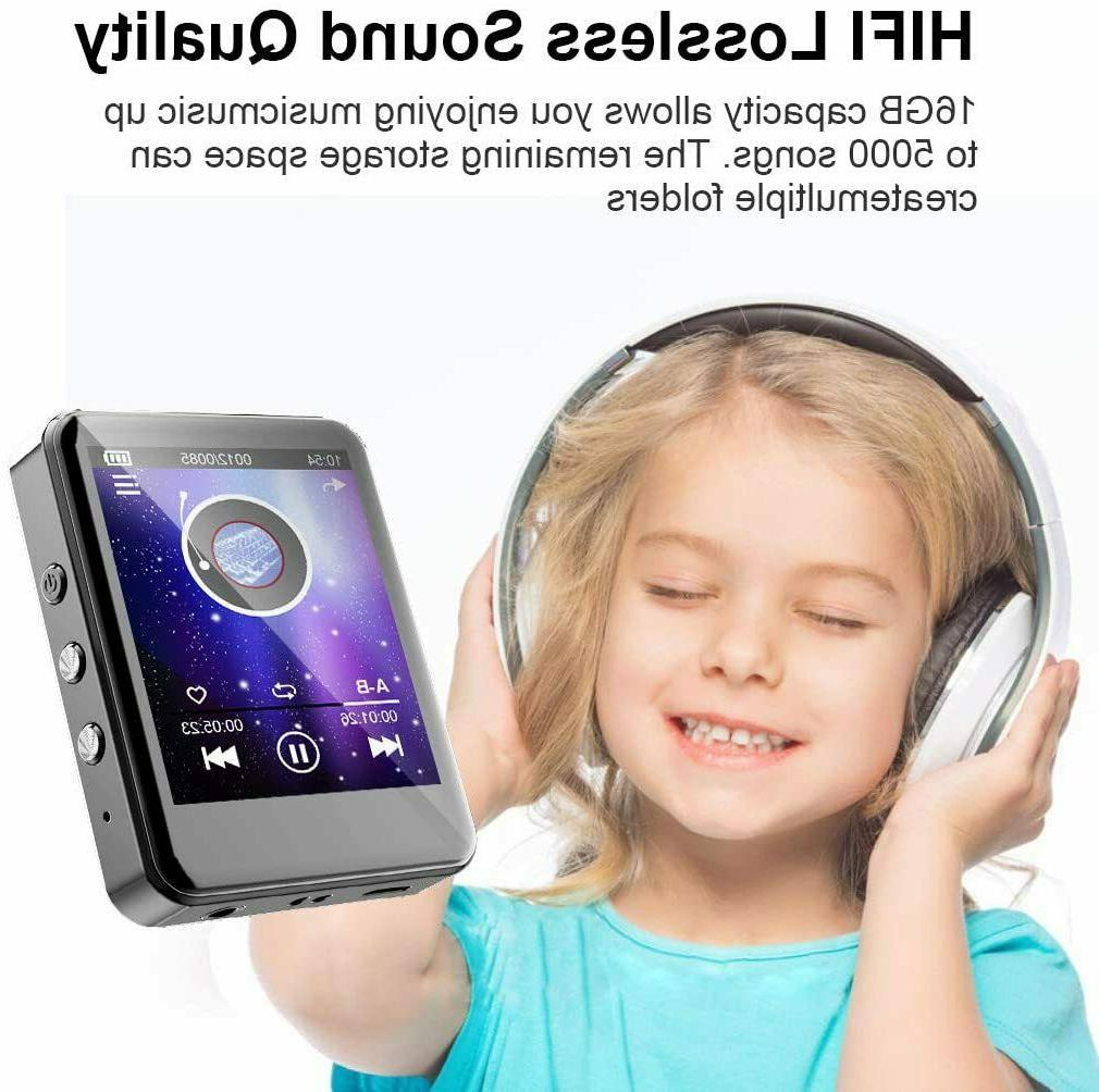 MP3Player, Bluetooth, 32GB Player with