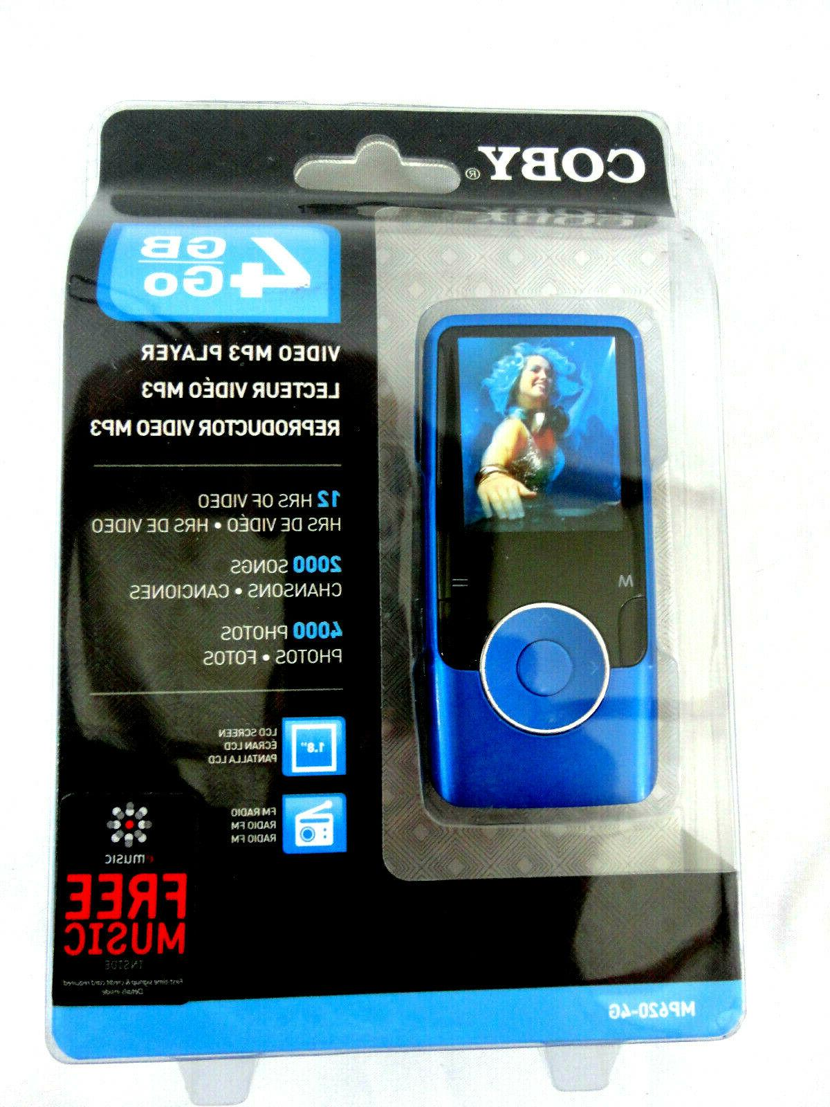 mp620 blue 4 gb digital media player
