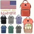 LAND Nappy Diaper Mummy Bag Multifunctional Travel Backpack