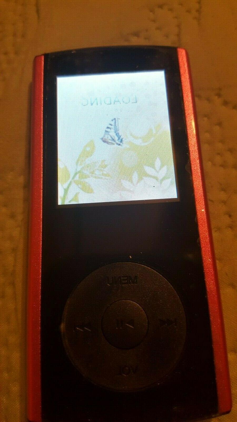 New pink/black MP3/MP4