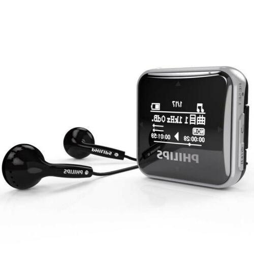 New Philips SA2208 8GB HIFI Player