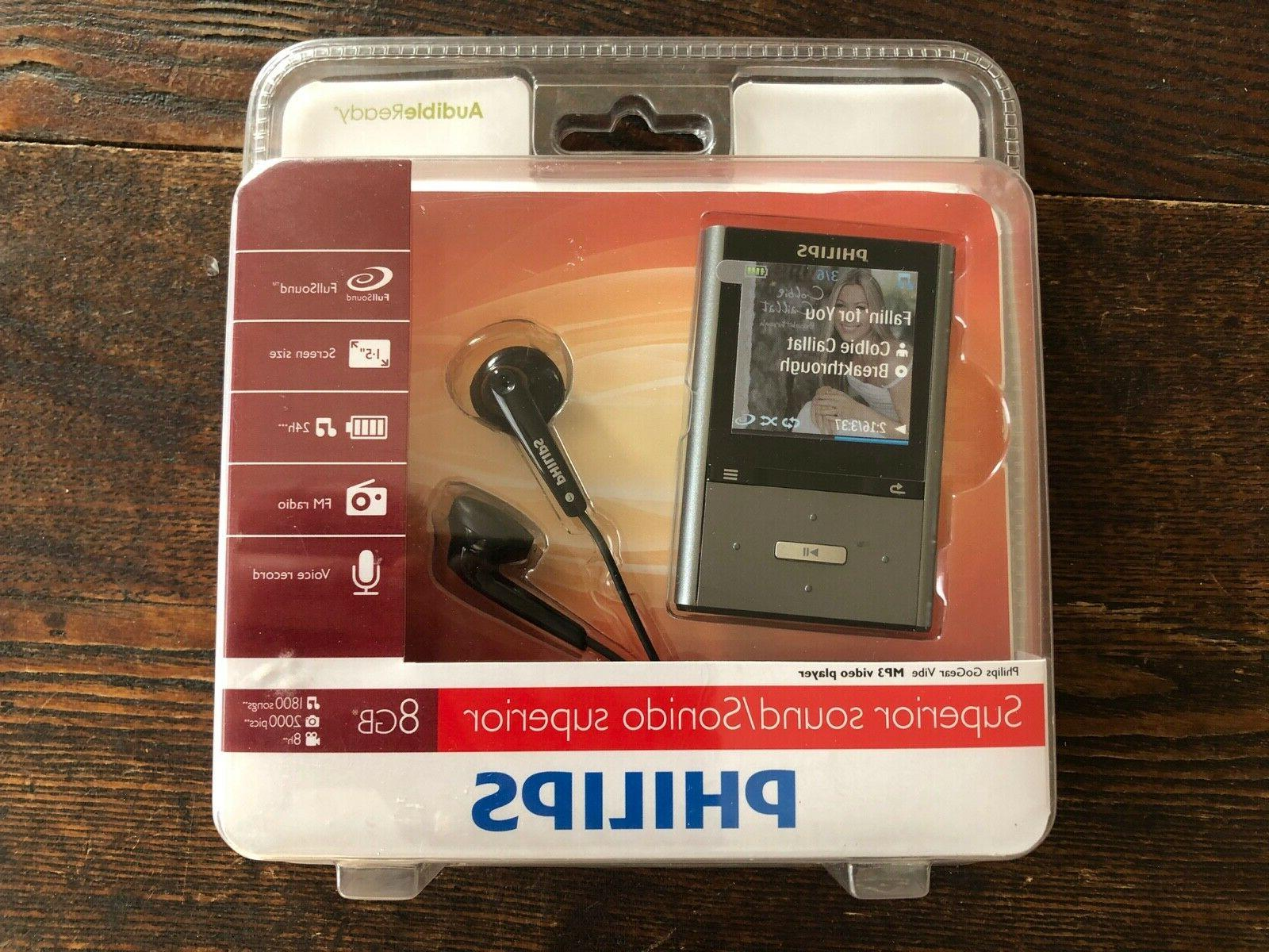 NEW Sealed Vibe Player 8gb