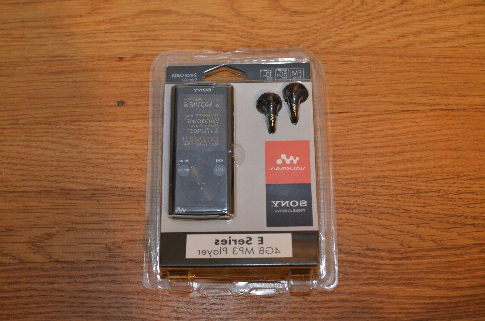new sealed walkman nwz e353 portable mp3