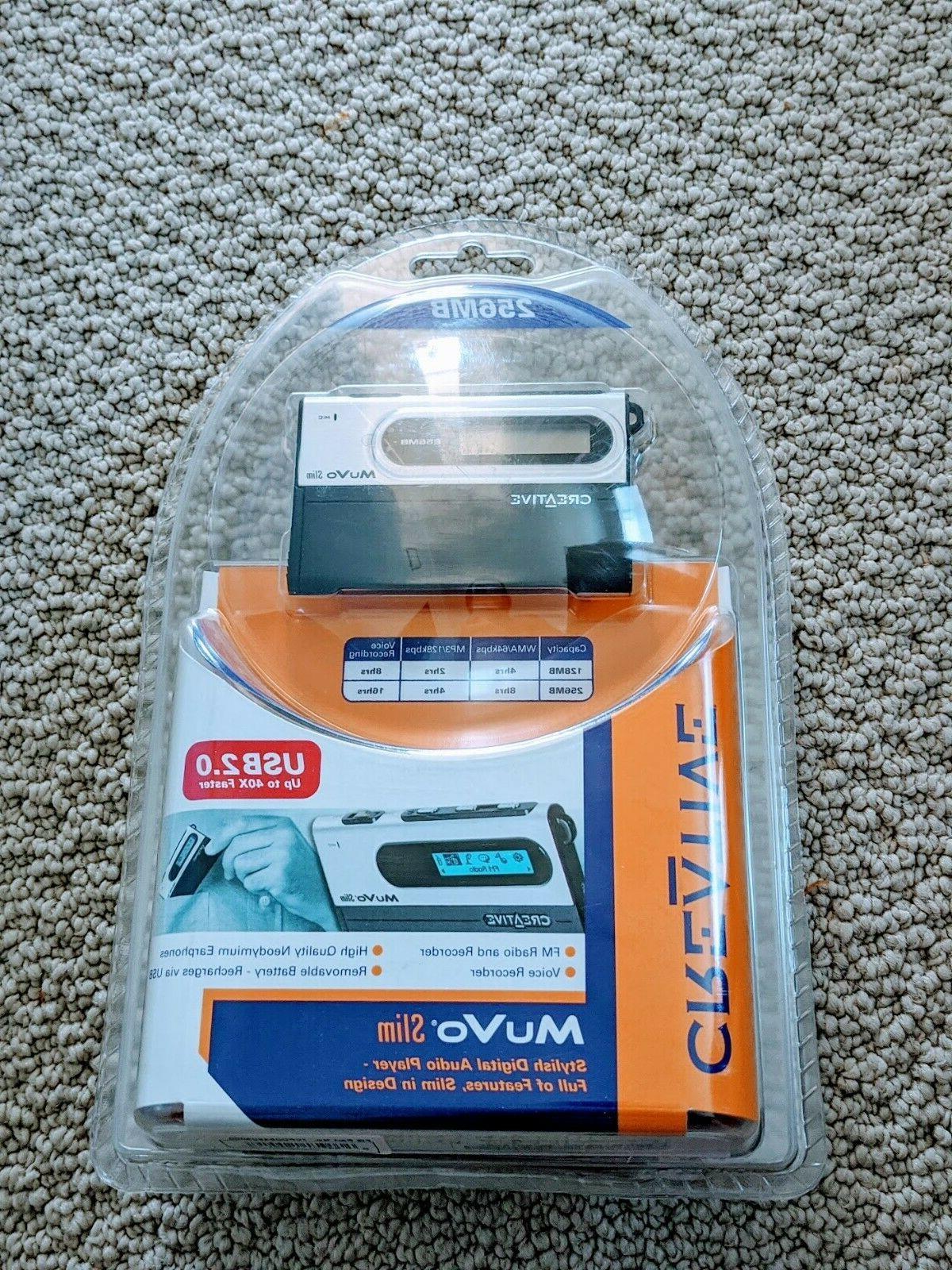 New Stylish MuVo Slim Digital Media Player