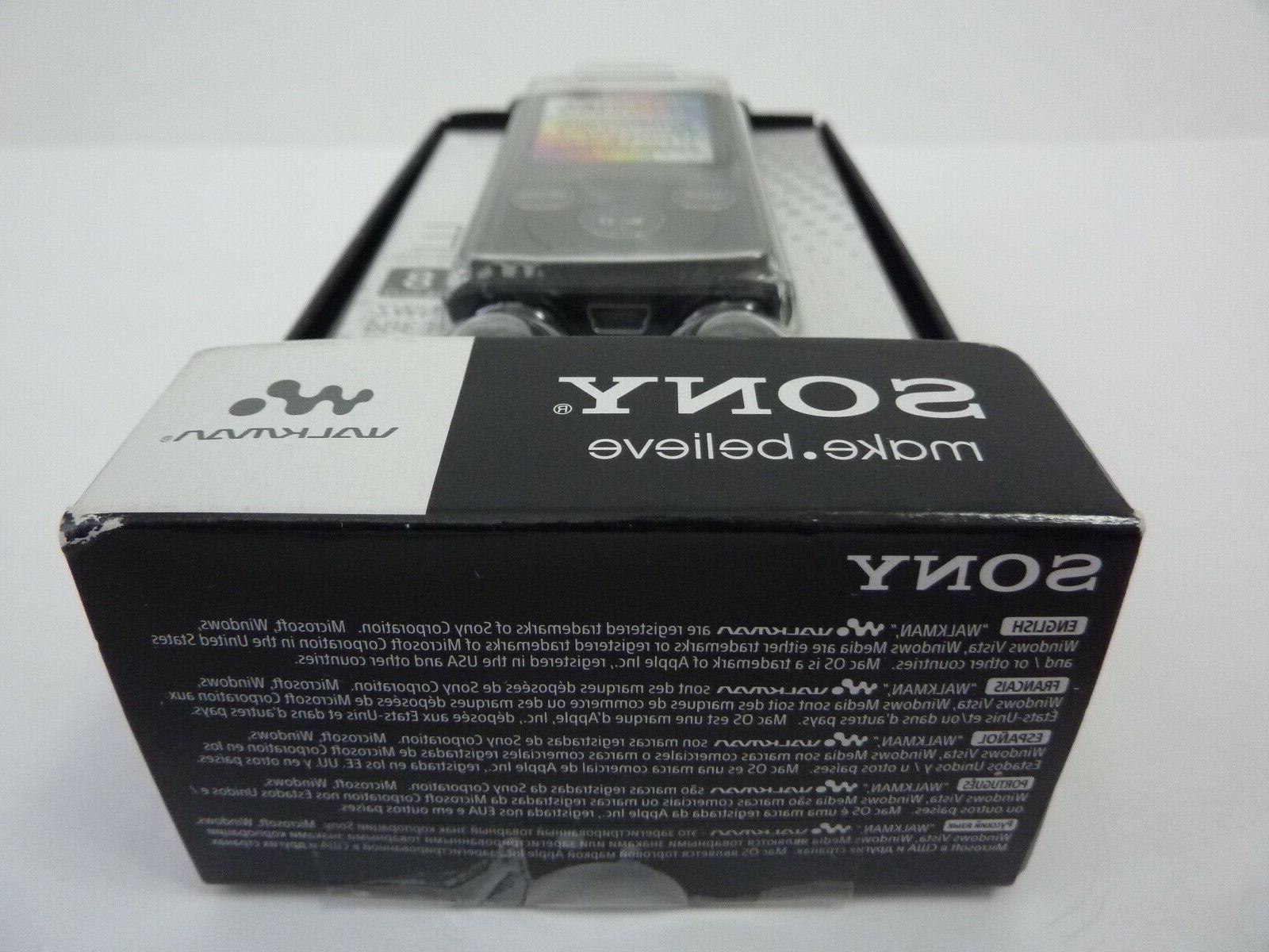 NEW Walkman NWZ-E384 MP3 Player 8GB SEALED