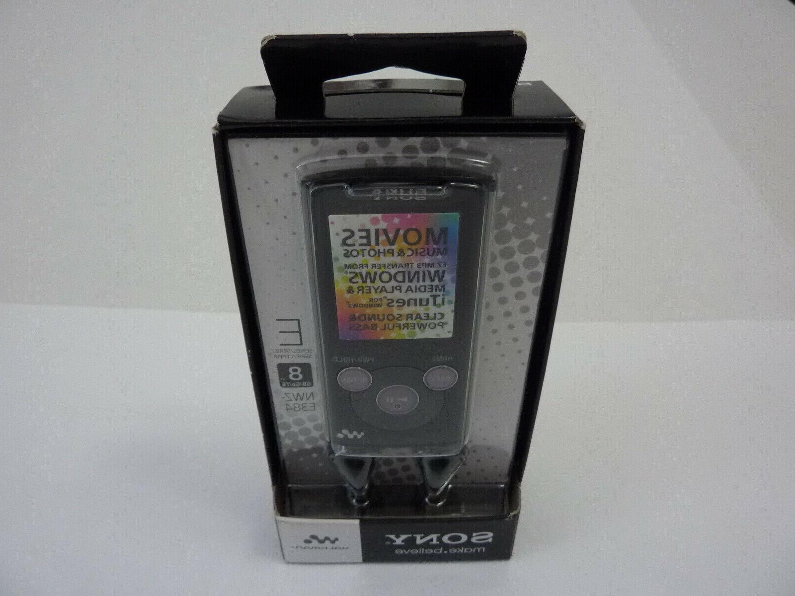 new walkman nwz e384 portable mp3 music