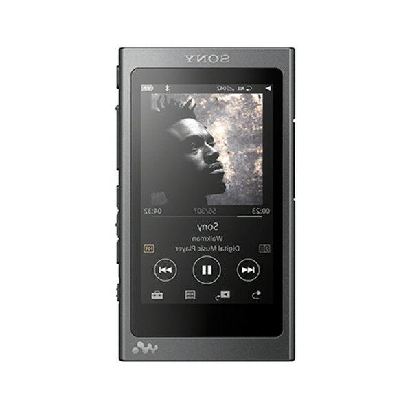 nw a36hn black walkman 32gb audio player
