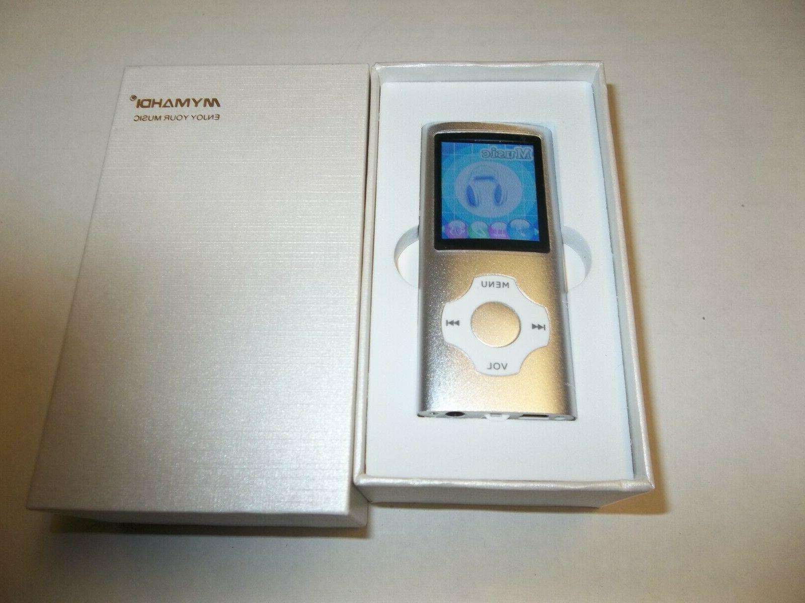 Portable Player,1.8 Screen Silver