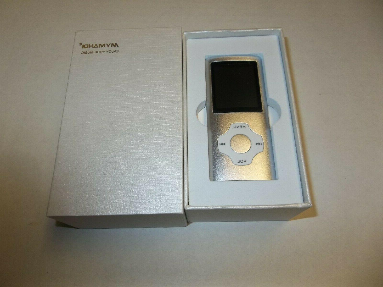 open box mp3 mp4 portable player 1