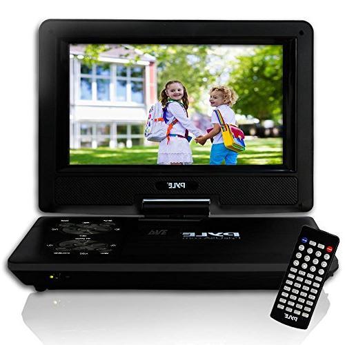 "PDV91BK DVD - 9"" Display - 800 x 480 - Black"