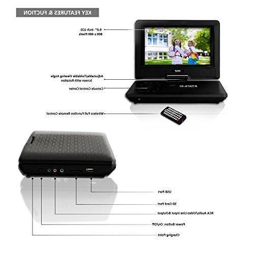 PDV91BK Portable DVD - 800 Black