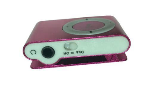 Pink Mini MP3 USB Micro SD