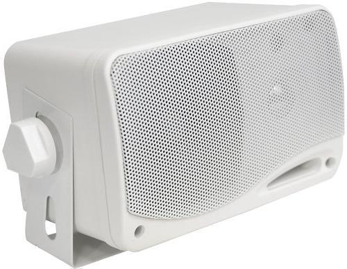 3-Way Outdoor Speaker Set - Inch 200W Grade in ABS Home, Poolside, Pyle