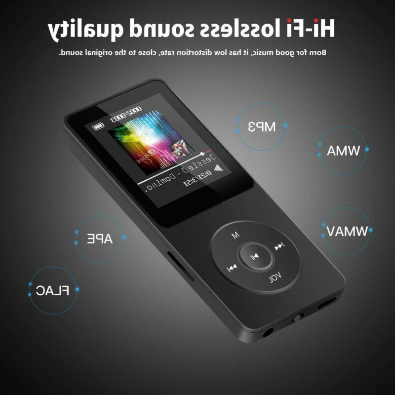 Portable 8GB Multifunction Music AVI MP3 Player Hours