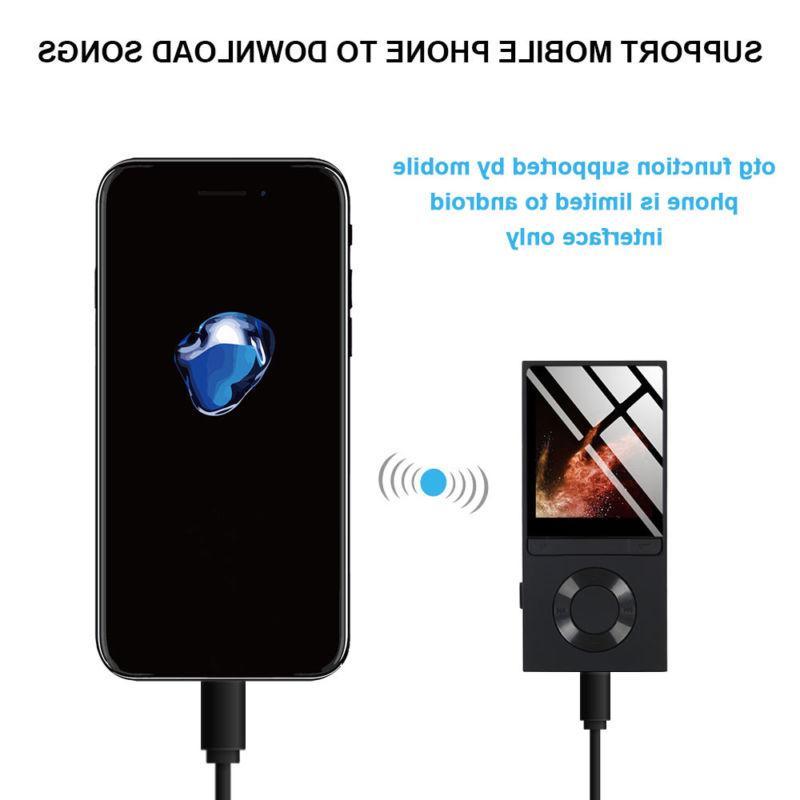 Portable Bluetooth MP3 Music Player FM Lossless 128GB