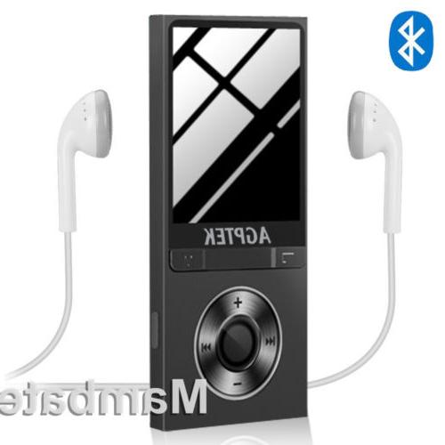 AGPtek Latest Version MP3 Music Player Lossless Sound Portab