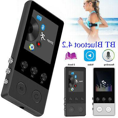 portable bluetooth mp3 music player with fm
