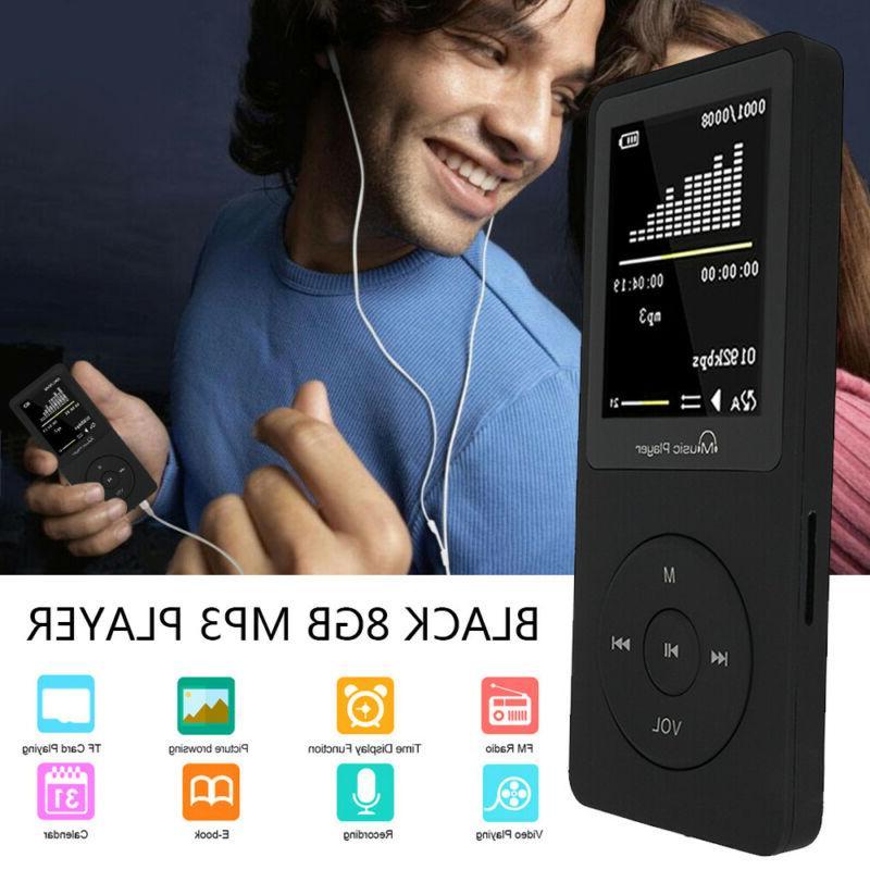 portable bluetooth mp3 player music 8gb lossless