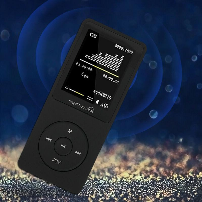 Portable MP3 Player Sound Video Support Up FM Player
