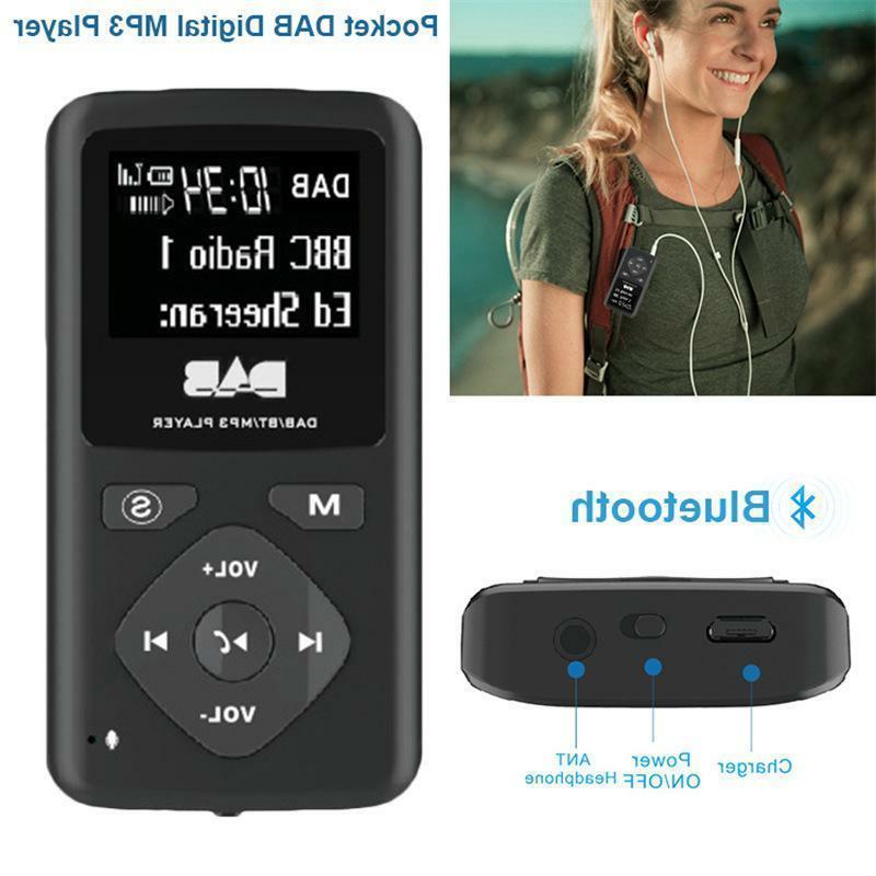portable digital bluetooth mp3 player music