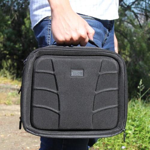 USA Car Headrest Accessory Pockets , Adjustable Shoulder Interior - with Sylvania – Inch Portable DVD/CD/MP3