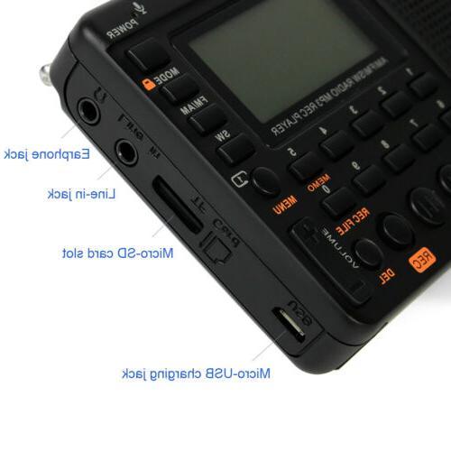 Portable FM/AM/SW US