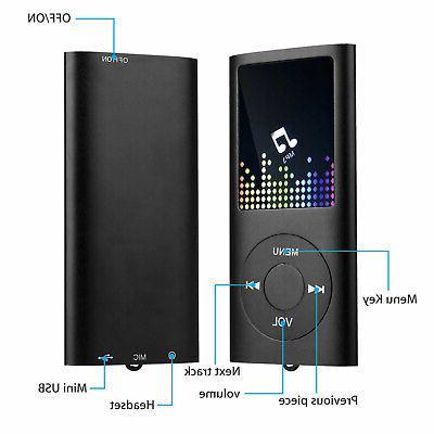 Portable MP3 Music Player +