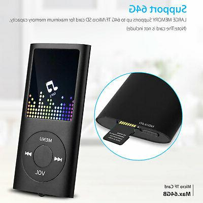 Portable MP3 Music Player FM Recorder up + earphone