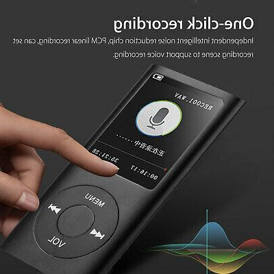 Portable MP3 Music Player FM Recorder + earphone