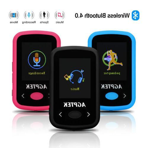 Portable Lossless HiFi Sound Music 8G Bluetooth MP3 Player s