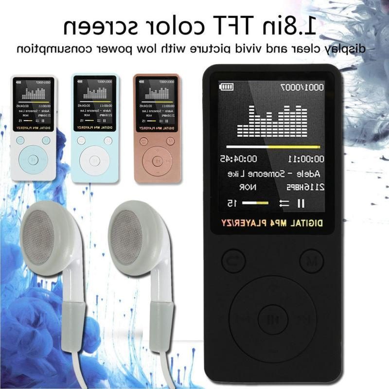 Portable Sound Player LCD Support Micro TF