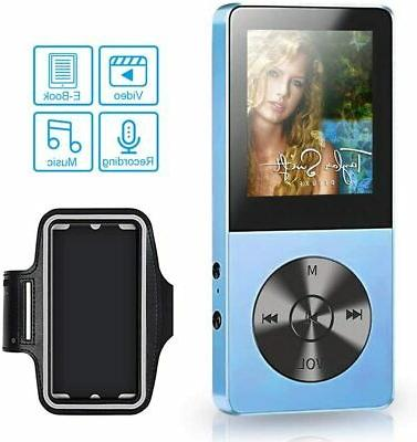 Portable MP3/MP4 Player 8GB Running MP3 Player Sport
