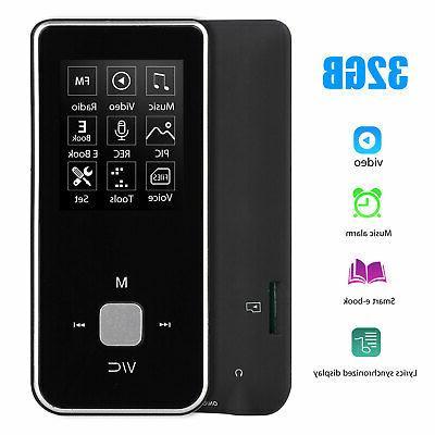 portable mp3 mp4 player lcd screen hifi