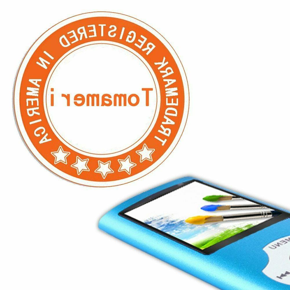 Tomameri MP3/MP4 w/Rhombic Button,Includes a 16GB SD