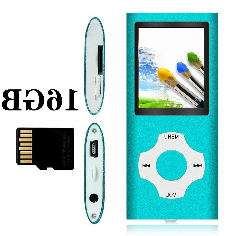 Tomameri - Portable MP3 / MP4 Player with Rhombic Button, 16