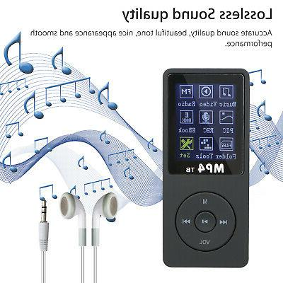 Portable Music Player with Digital LCD Screen up 32