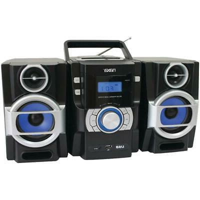 NAXA Electronics Portable MP3CD Player with PLL FM Radio
