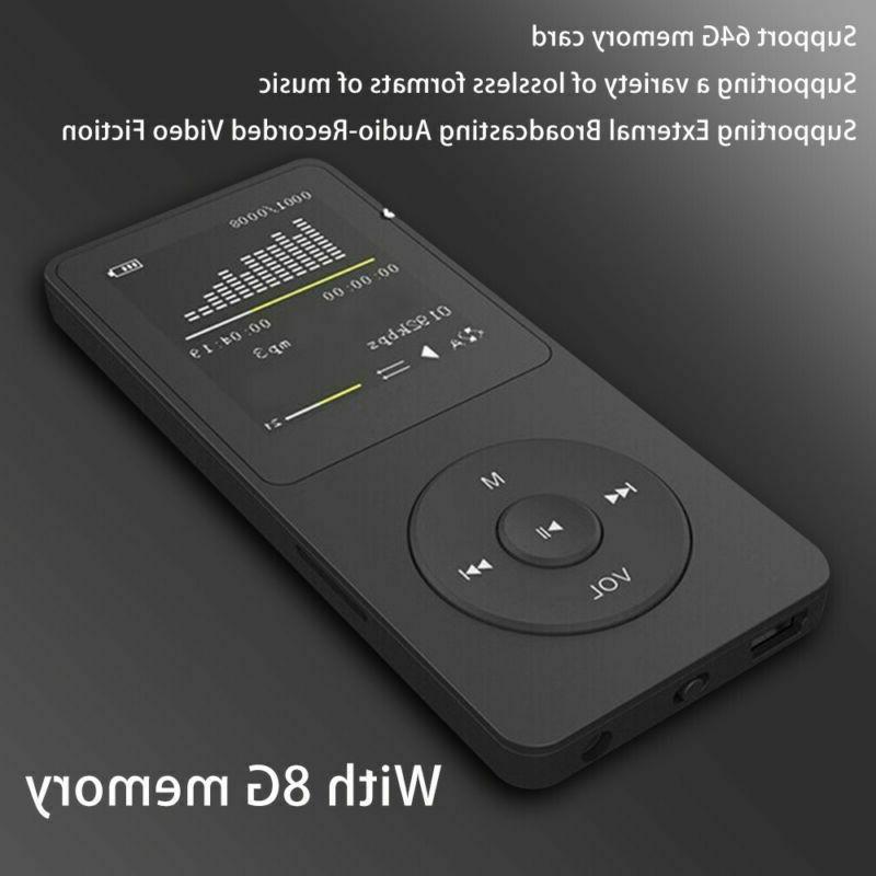 Portable MP3 8GB Video Sound