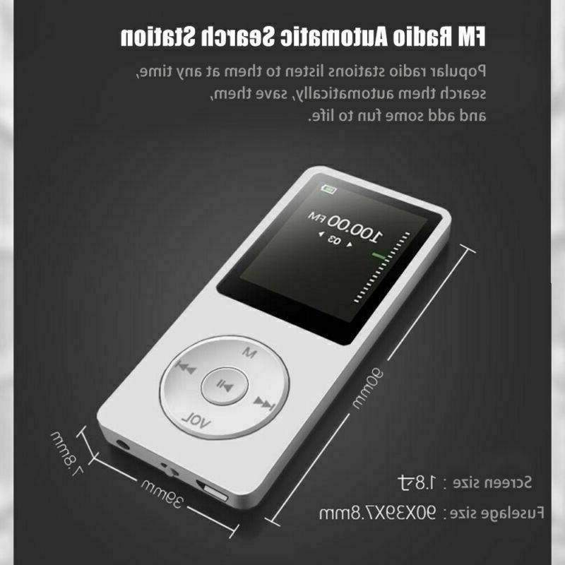 Portable Music 8GB Playback Sound