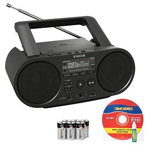 portable range stereo boombox sound