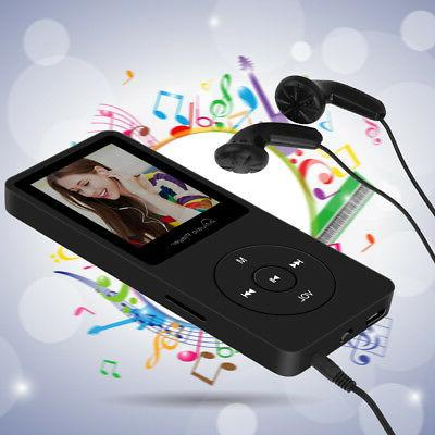 8GB MP3 Video Playback FM Radio SD Card Slot Stereo Music Play