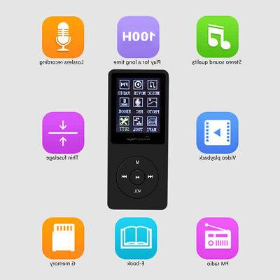 8GB MP3 Player Video Playback Card Music Play